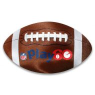 Promotional Custom Logo Football Shaped Microfiber Cleaning Cloth