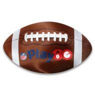 Promotional Custom Logo Football Shaped Microfiber Cleaning Cloth