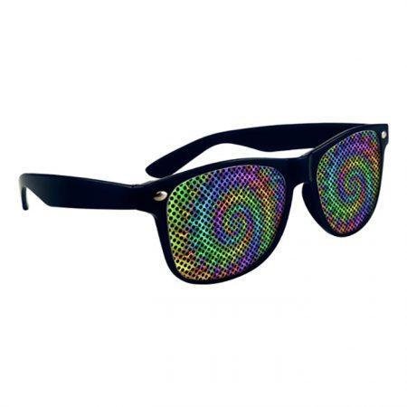 Custom Logo Promotional Full Color LensTek Miami Sunglasses