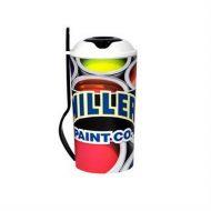 Promotional Custom Logo Full Color Salad Shaker