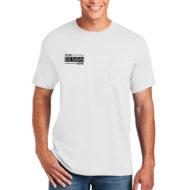 Custom Logo Gildan DryBlend Tshirt with Pocket
