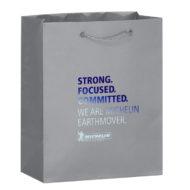 Gloss Laminated Euro Tote Bag 8x10