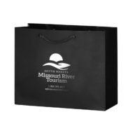Promotional Custom Logo Gloss Laminated Euro Tote Bag 9x7