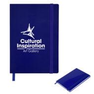 Glossy Journal-Blue Custom Logo