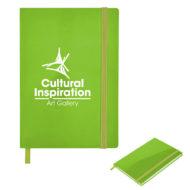 Glossy Journal-Lime Green Custom Logo