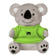 Promotional Custom Logo Gray Stuffed Plush Koko Koala 8.5inch