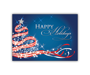 Happy holidays greeting card 21 stock designs progress promotional products custom printed holiday greeting cards m4hsunfo