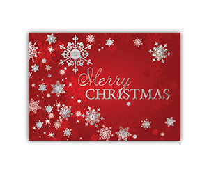 Merry christmas holiday greeting card 6 stock designs progress promotional products custom printed holiday greeting cards m4hsunfo