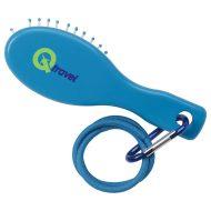 Custom Logo Hair Brush with Hair Ties