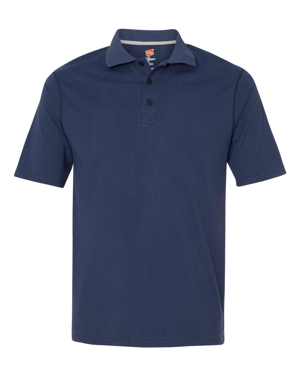 Hanes X Temp 45oz Sport Polo Shirt Embroidery Progress