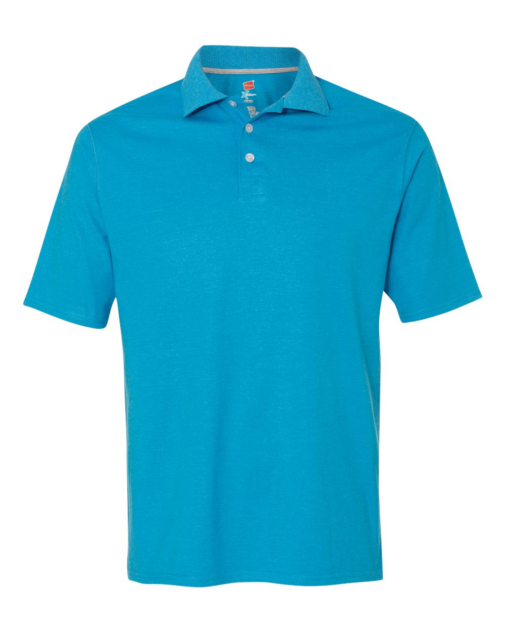 hanes x temp sport polo shirt embroidery