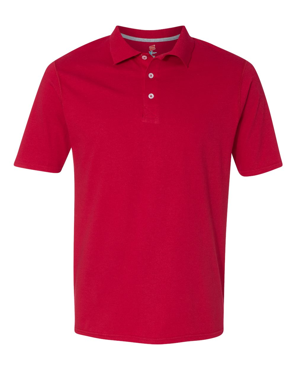 Hanes x temp sport polo shirt embroidery for Polo shirts with embroidery