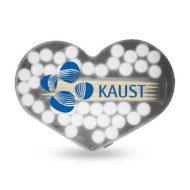 Promotional Custom Logo Heart Shaped Pick and Mint