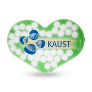 Promotional Custom Logo Heart Shaped Pick and Mint