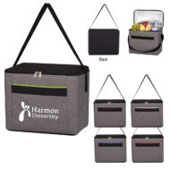 Promotional Products - Heathered Lunch Cooler Bag