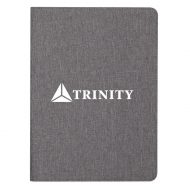"Promotional Custom Logo Heathered Padfolio 9.50""W x 13.00""H"