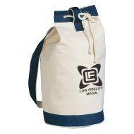 Promotional Custom Logo Heavy Canvas Cotton Boat Tote Bag