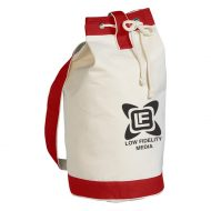Promotional Custom Logo Heavy Canvas Cotton Boat Tote Bag