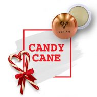 Promotional Custom Logo Holiday Candy Cane Flavor Lip Balm