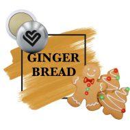 Promotional Custom Logo Holiday Ginger Bread Lip Balm Ball