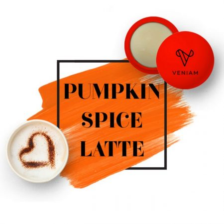 Promotional Custom Logo Holiday Pumpkin Spice Latte Lip Balm Ball