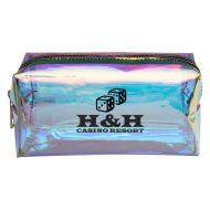 Promotional Custom logo Hologram Vanity Bag