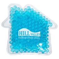 Promotional Custom Logo House Hot/Cold Pack Aqua Pearls