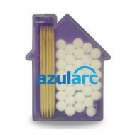 Promotional Custom Logo House Shaped Pick and Mints