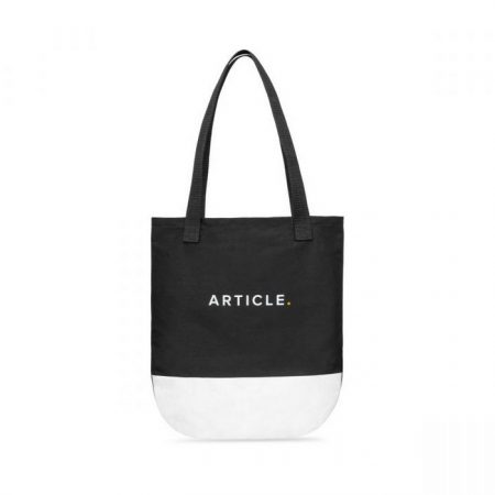 Promotional Custom Logo Hudson Cotton Convention Tote