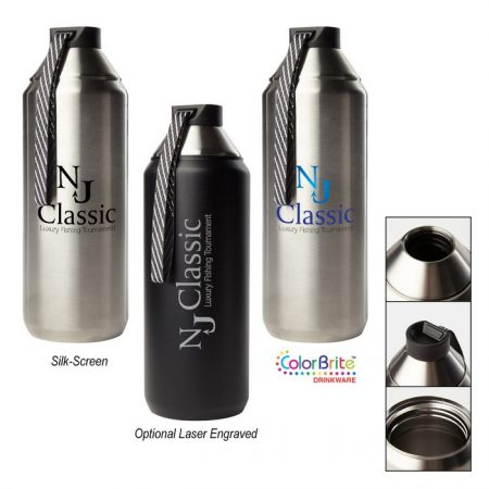 Promotional Custom Logo Hydrogen Stainless Steel Water Bottle 32 oz