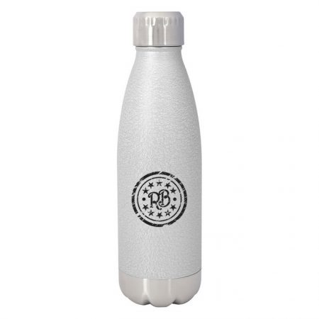 Promotional Custom Logo Iced Out Swiggy Stainless Steel Water Bottle 16ox