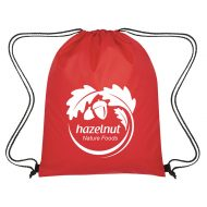 Custom Logo Promotional Insulated Drawstring Cooler Bag