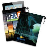 Promotional Custom Logo Ipad Mini/Tablet Microfiber Cloth Pouch