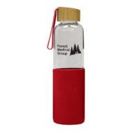 Promotional Custom Logo Jameson Glass Water Bottle 18oz