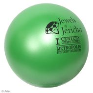 Personalized Jewel Stress Ball Logo