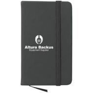 Journal Notebook-Black Custom Logo