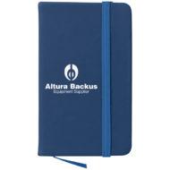 Journal Notebook-Blue Custom Logo
