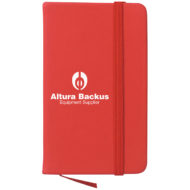 Journal Notebook-Red Custom Logo