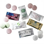 Promotional Custom Logo Jumbo Wrapped Mints
