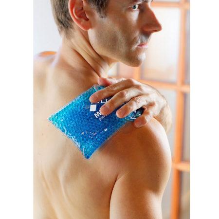 Promotional Custom Logo Large Rectangle Hot/Cold Pack Aqua Pearls