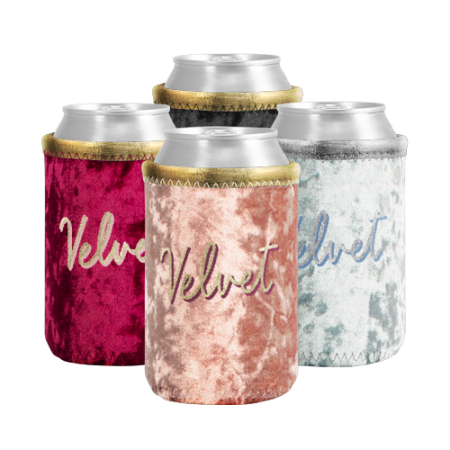 Promotional Products - Liam Velvet Neoprene Can Insulator