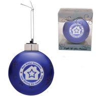 Promotional Custom Logo - Light-Up Glass Ornament