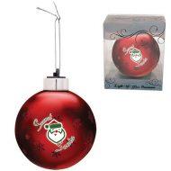 Promotional Custom Logo - Light-Up Glass Ornament