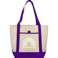 Promotional Products - Imprinted Tote - Lighthouse Non-Woven Boat Tote Bag