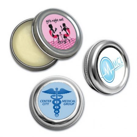 Promotional Custom Logo Lip Balm Moisturizer Tin