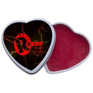 Promotional Custom Lip Moisturizer in Heart Shape Tin