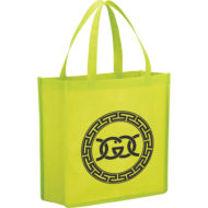 Promotional Products - Imprinted Tote - Main Street Non-Woven Shopper Tote Bag