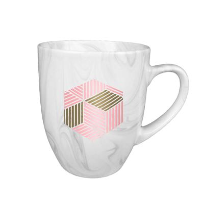 Custom Branded Marble Mug