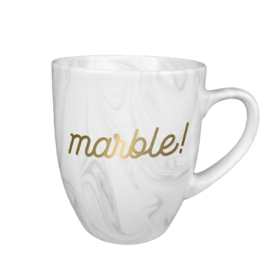 Promotional Marble Mug with Imprint