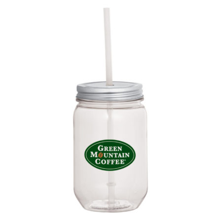 Promotional Mason Jar with Logo